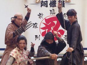 Японские ниндзя