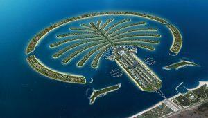 пальмовые острова Дубай