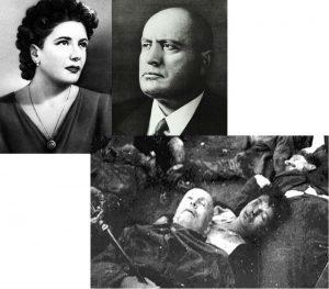 Кларетта Петаччи и Бенито Муссолини