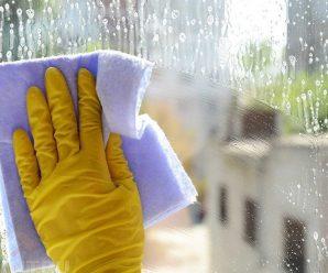 Как вымыть стекло без разводов?